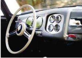 porsche 356 pre a - interior